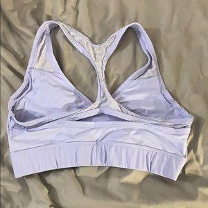 PINK Victoria's Secret Intimates & Sleepwear - Purple Strappy Pink Sports Bra